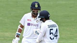 IND vs AUS 4th Test: Washington, Shardul Heroics Keep India's Hopes Alive at Australia's Fortress Gabba