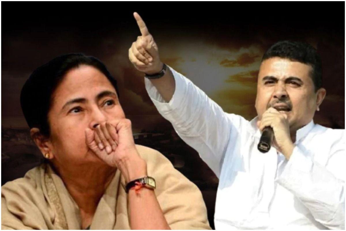 West Bengal Polls 2021: शुभेंदु अधिकारी का ममता बनर्जी पर हमला- 'नंदीग्राम  से TMC प्रमुख को 50 हजार वोटों से नहीं हराया तो...' - Will defeat mamata  banerjee by votes or quit