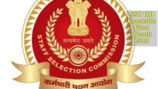 SSC GD Constable Final Results 2018 DECLARED | Find Direct Links to Check Scores Here