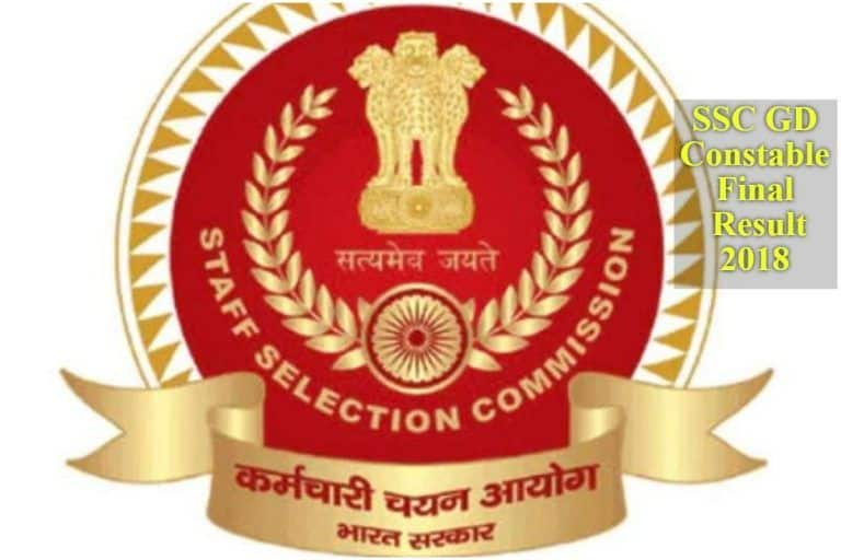 SSC GD Constable Final Results 2018 DECLARED   Find Direct Links to Check Scores Here