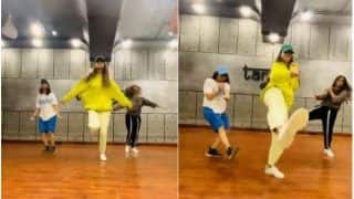 Disha Patani in Yellow Hoodie Takes The Internet by Storm With Striking Dance Moves on Saweetie's Tap In, Tiger Shroff Drops Fire Emoji