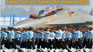 Indian Air Force Airmen Recruitment 2021: 12वीं पास के लिए भारतीय वायु सेना में शामिल होने का सुनहरा मौका, कल से आवेदन प्रक्रिया शुरू, इस Direct Link से करें अप्लाई