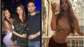 Suhana Khan Flaunts Her Perfect Hourglass Figure as She Poses With Her Cousin And His Girlfriend