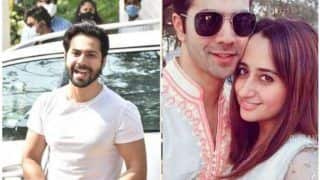 Varun Dhawan-Natasha Dalal's Sangeet Ceremony Begins; Family, Friends Dance on Dhol Beats –Video