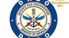 DRDO Recruitment 2021: DRDO में नौकरी करने का सुनहरा मौका, इन विभिन्न पदों पर निकली बंपर वैकेंसी, जल्द करें आवेदन