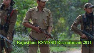 Rajasthan RSMSSB Recruitment 2021: 10वीं, 12वीं पास फॉरेस्टर, फॉरेस्ट गार्ड के पदों पर अप्लाई करने की है कल आखिरी तारीख, जल्द करें आवेदन