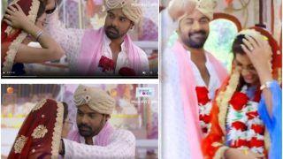 Kumkum Bhagya: Shabir Ahluwalia-Sriti Jha Aka Abhi and Pragya Are Finally Married, Leaves Fans Delighted