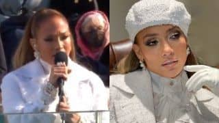 Jennifer Lopez Raises Fashion Quotient in a Stunning All-White Outfit Opted For President Joe Biden's Inauguration