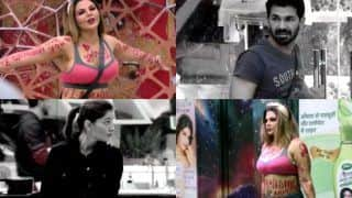 Bigg Boss 14: Rakhi Sawant Writes 'I Love Abhinav' All Over Her Body, Rubina Dilaik Calls It 'Cheap Publicity'