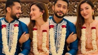 Gauahar Khan Shares Mesmerising Pictures With Hubby Zaid Darbar As 'Sasural Welcomes Her'