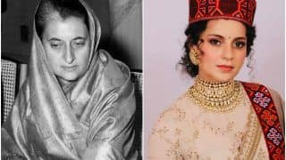 Kangana Ranaut to Play Former PM Indira Gandhi in Upcoming Political Period Drama