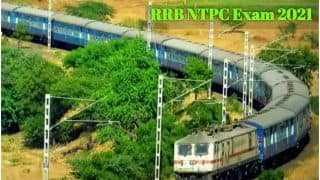 RRB NTPC Phase 5 Exam Date 2021 released At rrbcdg.gov.in, Call Letter From THIS DATE