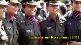 Indian Army Recruitment 2021: Application Process For SSC 49th Course Begins Today | Direct Link Here