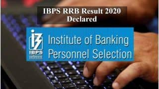 IBPS RRB Officers Scale 1 Result 2020 Declared at ibps.in | Find Direct Link, Steps to Check Here
