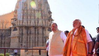 PM मोदी को सोमनाथ मंदिर न्यास का अध्यक्ष बनाया गया, अमित शाह ने रखा था प्रस्ताव