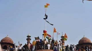What is Nishan Sahib, The Flag Hoisted by Protesting Farmers at Red Fort?