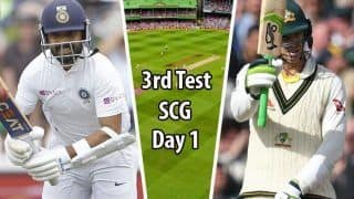 Highlights Australia vs India 3rd Test: Labuschagne, Pucovski Hit Half-Centuries on Rain-Interrupted Day 1