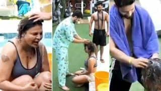 Bigg Boss 14: Rakhi Sawant Gets Headwash From Rahul Vaidya, Aly Goni   Watch Hilarious Video