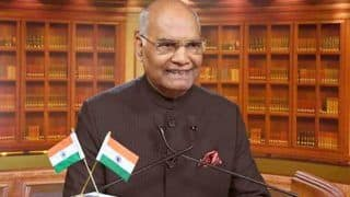 President Kovind Extends New Year Greetings, Hopes India Marches Ahead to Achieve Progress