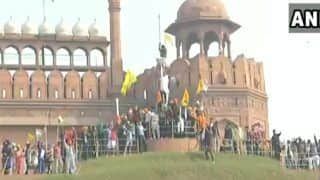 Man Who Climbed Ramparts of Red Fort on Republic Day Arrested