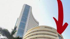 Stock market update: कमजोर वैश्विक संकेतों से शेयर बाजार में गिरावट; सेंसेक्स 630 अंक से ज्यादा टूटा
