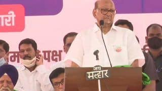 Sharad Pawar Warns Centre To Take Back Farm Laws As Massive Crowd Turns Up in Mumbai's Farmers Rally