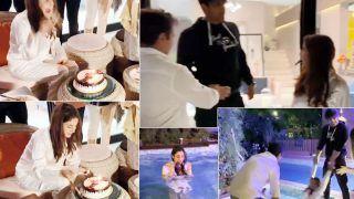 Shehnaaz Gill Celebrates Her Birthday With Rumoured BF Sidharth Shukla, Videos Go Viral