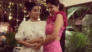 शिल्पा और शमिता पर चढ़ा शम्मी कपूर का बुखार, 'बदन पे सितारे' पर किया धमाल', देखें वीडियो