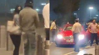 Suhana Khan को एयरपोर्ट छोड़ने आए शाहरुख, कैमरे से खुद को रखा दूर...Video में दिखा किंग खान का नया लुक