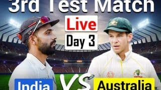 LIVE | Ind vs Aus 3rd Test, Day 3: Pujara, Rahane Look to Build