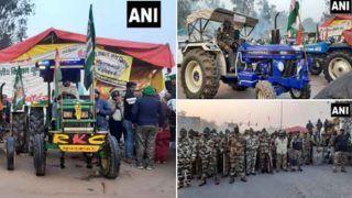 Delhi Traffic Alert: किसानों की ट्रैक्टर रैली जारी, दिल्ली पुलिस Traffic Advisory जारी कर इन रास्तों से बचने की दी सलाह