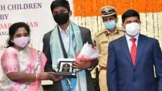 14-Year-Old Hyderabad Boy Invents Smart Wristband to Monitor The Elderly, Wins Bal Shakti Puraskar Award