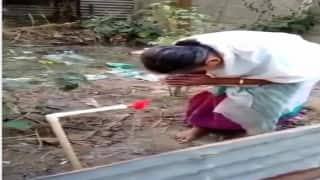 Woman's Reaction After Water-line Reaches Her Home in Assam Will Melt Your Heart | WATCH