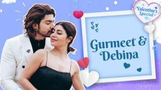 Gurmeet Choudhary-Debina Bonnerjee's Love Story in Valentine's Day Special Video