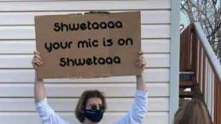 'Shweta, Your Mic is On': Twitterati Is Obsessed With Shweta Memes, Urges Yashraj Mukhate to Create Spoof Music on It | Watch