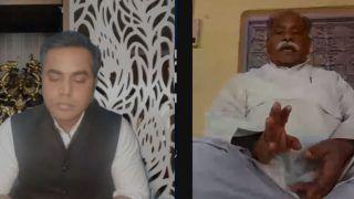BKU (Bhanu) Chief Bhanu Pratap Singh Farts During Live Interview & Anchor Can't Even Laugh | Watch Viral Video