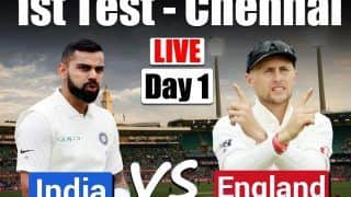 Highlights, India vs England 1st Test: Centurion Root, Sibley Put Visitors on Top on Day 1