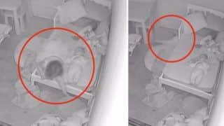 Ghost Video: Baby Gets 'Pulled Under The Bed' by Ghost, Dad Shares Horrifying Footage | Watch