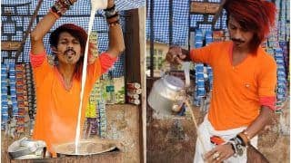 Stylish Chaiwala in Nagpur Serves Tea With an Unbeatable Swag, Says He's Inspired by Rajinikanth | Watch Video