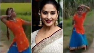 Amroha Desi Girl Dances to Mother India's Song in a Field, Madhuri Dixit is Mighty Impressed | Watch