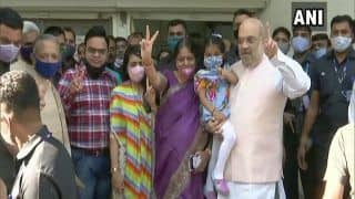 Gujarat Civic Polls 2021 Updates: CM Vijay Rupani Casts Vote After Testing Negative For COVID-19