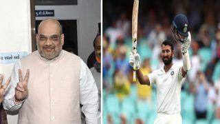 IND vs ENG: Amit Shah की दिली तमन्ना, पिंक बॉल टेस्ट में दोहरा शतक जड़ें Cheteshwar Pujara