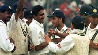 On this day in 1999 anil kumble became first indian player to take all 10 wickets in an inning in test vs pakistan 4403490