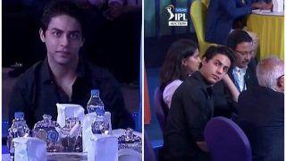 Shahrukh Khan's Son Aryan Steals Show at IPL Auction in KKR Camp, Netizens React