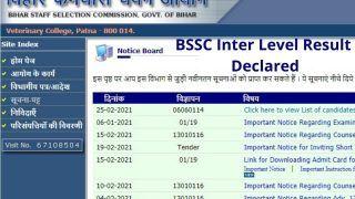 BSSC Inter Level Result Declared: BSSC ने जारी किया Inter Level मेन्स 2014 का रिजल्ट, ये रहा चेक करने का Direct Link