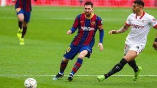Sevilla 0-2 Barcelona: Lionel Messi Scores as Catalans Edge Past Real Madrid to No 2 Spot