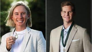 Steve Smith Wins Allan Border Medal, Beth Mooney Bags Maiden Belinda Clarke Award; Full List of Winners From The Australian Cricket Awards