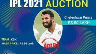 Chennai Super Kings Get Cheteshwar Pujara For Rs 50 Lakh; Will Play in IPL After 2014