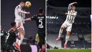 Cristiano Ronaldo's Brace Helps Juventus Blank Crotone 3-0 in Serie A Fixture