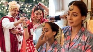 Gajra, Kajal, And Lots of Love - How Dia Mirza Got Ready For Her Wedding | Video